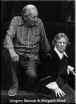 Gregory Bateson & Margaret Mead Copyright: Fred Roll